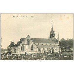 carte postale ancienne 27 BERNAY. Eglise Notre-Dame de Couture Cimetière