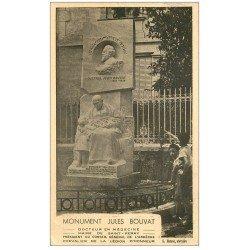carte postale ancienne 07 SAINT-PERAY. Monument Jules Bouvat Docteur et Maire (défauts)...
