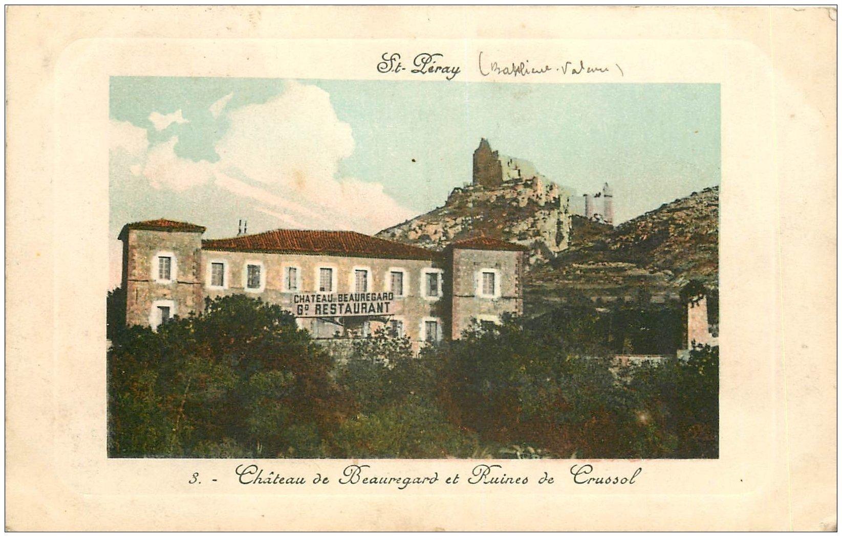 Restaurant Chateaux De Crussol