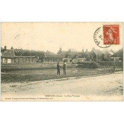 carte postale ancienne 27 BRETEUIL. La Mare Vinaigre 1913