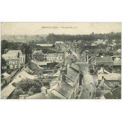 carte postale ancienne 27 BRETEUIL. Vue générale n° 1 1908