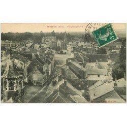carte postale ancienne 27 BRETEUIL. Vue générale n° 2 1910