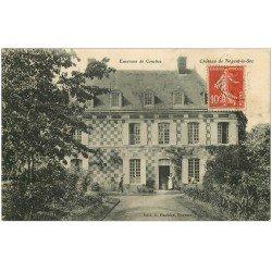 carte postale ancienne 27 CHATEAU DE NOGENT-LE-SEC. Employés de Maison et Jardiniers près Conches