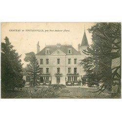carte postale ancienne 27 CHATEAU DE TOUTAINVILLE