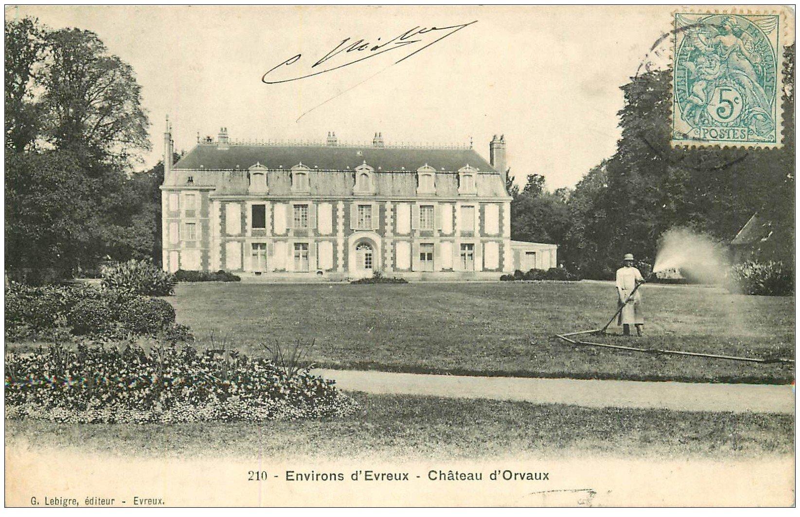 27 chateau d 39 orvaux jardinier pr s d 39 evreux 1907. Black Bedroom Furniture Sets. Home Design Ideas