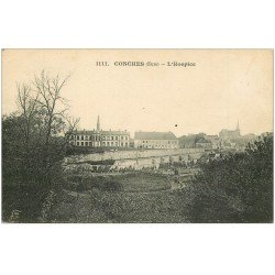 carte postale ancienne 27 CONCHES. Hospice 1918