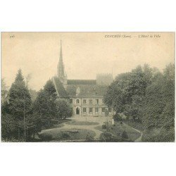 carte postale ancienne 27 CONCHES. Hôtel de Ville