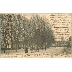 carte postale ancienne 07 TOURNON. Quai Farconnet 1904