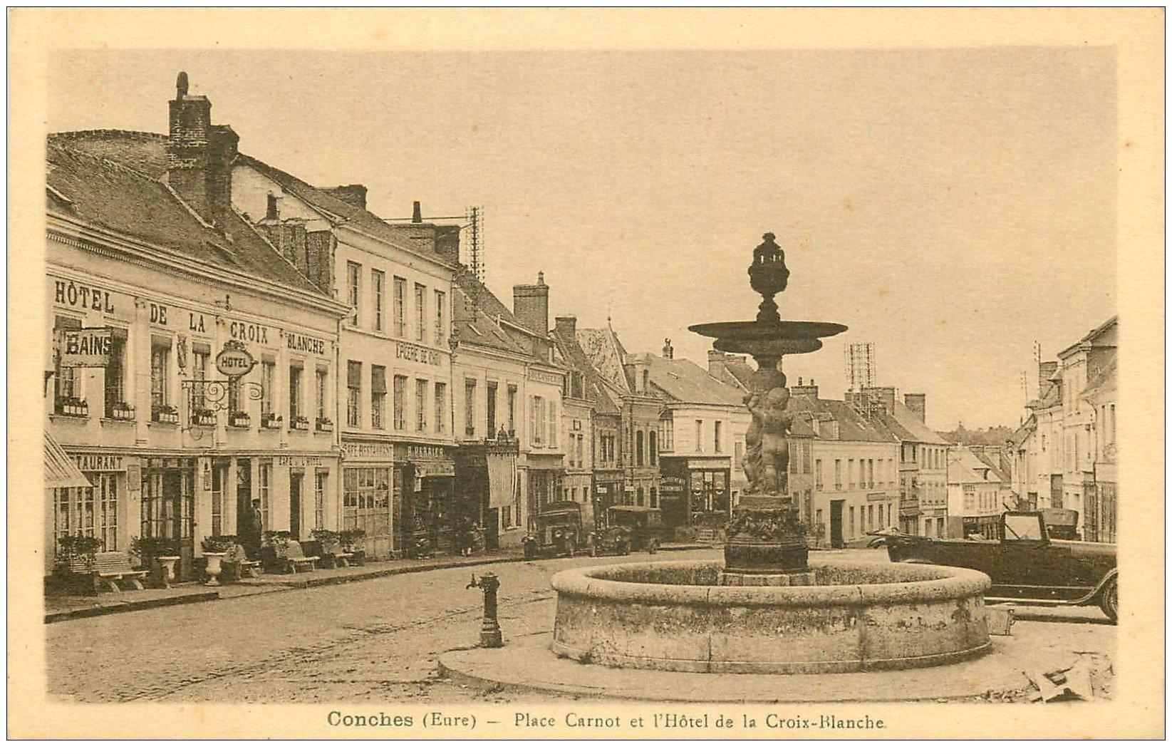 27 conches place carnot h tel de la croix blanche - La croix blanche magasin ...
