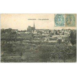 carte postale ancienne 27 CONCHES. Vue générale