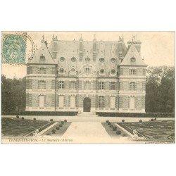carte postale ancienne 27 CONDE-SUR-ITON. Château 1906