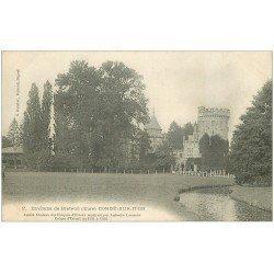 carte postale ancienne 27 CONDE-SUR-ITON. Château 2 bis
