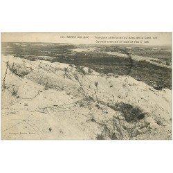 carte postale ancienne 02 BERRY-AU-BAC. Tranchée allemande au Flanc Côte 108 1921