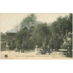 carte postale ancienne 07 VALS-LES-BAINS. Grottes des Sources Vivaraises