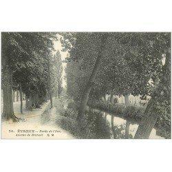 carte postale ancienne 27 EVREUX. Avenue de Breteuil