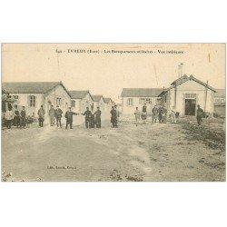 carte postale ancienne 27 EVREUX. Baraquements Militaires 1918