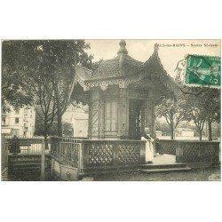 carte postale ancienne 07 VALS-LES-BAINS. Source Saint-Jean 1911