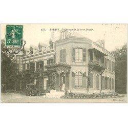carte postale ancienne 27 EVREUX. Château du Buisson Hocpin voiture ancienne