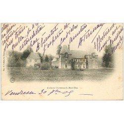 carte postale ancienne 08 Ancienne Chartreuse du Mont-Dieu 1905