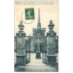 carte postale ancienne 08 BAZEILLES. Crypte ou Ossuaire vers 1913