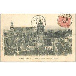 carte postale ancienne 27 GISORS. Cathédrale 1905
