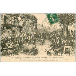 carte postale ancienne 08 BAZEILLES. Maison des Dernières Cartouches 1912 dite Bourgerie