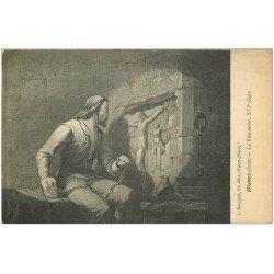 carte postale ancienne 27 GISORS. Le Prisonnier