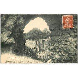 carte postale ancienne 27 GISORS. Tour du Corps de Garde 1915 et Donjon