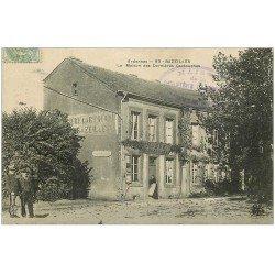carte postale ancienne 08 BAZEILLES. Maison des Dernières Cartouches. Taxe 1905 et Musée