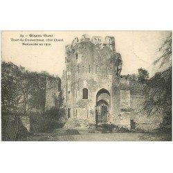 carte postale ancienne 27 GISORS. Tour du Gouverneur 1931