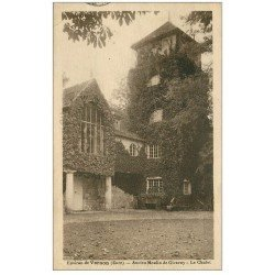 carte postale ancienne 27 GIVERNY. Le Chalet ancien Moulin 1925