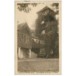 carte postale ancienne 27 GIVERNY. Le Chalet ancien Moulin 1925