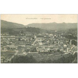 carte postale ancienne 01 Bellegarde. Vue générale 1916