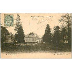 carte postale ancienne 08 BRIENNE. Le Château 1906