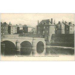 carte postale ancienne 08 CHARLEVILLE MEZIERES. Ancienne Porte et Mur crénelé
