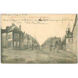 carte postale ancienne 27 LES ANDELYS. Avenue de la République 1905