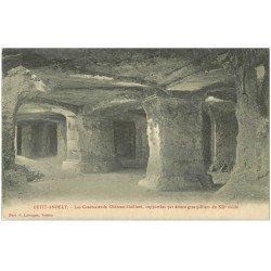 carte postale ancienne 27 LES ANDELYS. Casemates du Château Gaillard