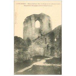 carte postale ancienne 27 LES ANDELYS. Château Gaillard Donjon Prison