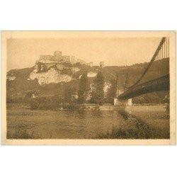 carte postale ancienne 27 LES ANDELYS. Château Gaillard Pont
