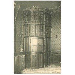 carte postale ancienne 27 LES ANDELYS. Hôtel Grand Cerf Porte Tambour