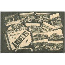carte postale ancienne 27 LES ANDELYS. Multivues 1916