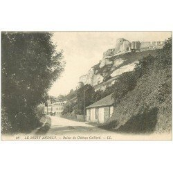 carte postale ancienne 27 LES ANDELYS. Ruines Château Gaillard 23