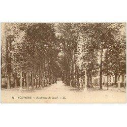 carte postale ancienne 27 LOUVIERS. Boulevard du Nord 82