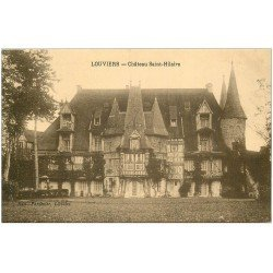 carte postale ancienne 27 LOUVIERS. Chapelle Saint-Hilaire