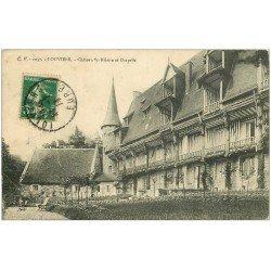 carte postale ancienne 27 LOUVIERS. Chapelle Saint-Hilaire et Chapelle 1914