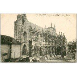 carte postale ancienne 27 LOUVIERS. Eglise Notre-Dame 353