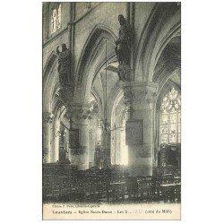 carte postale ancienne 27 LOUVIERS. Eglise Notre-Dame les Saints