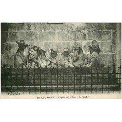 carte postale ancienne 27 LOUVIERS. Eglise Notre-Dame Nef Sépulcre