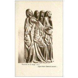 carte postale ancienne 27 LOUVIERS. Eglise Notre-Dame Pamoison Vierge