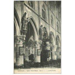 carte postale ancienne 27 LOUVIERS. Eglise Notre-Dame Saints